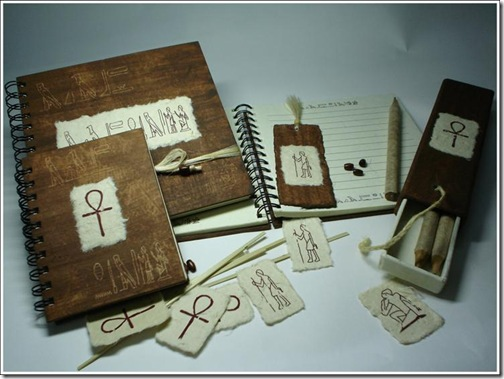 Egyptian Cards & Journals