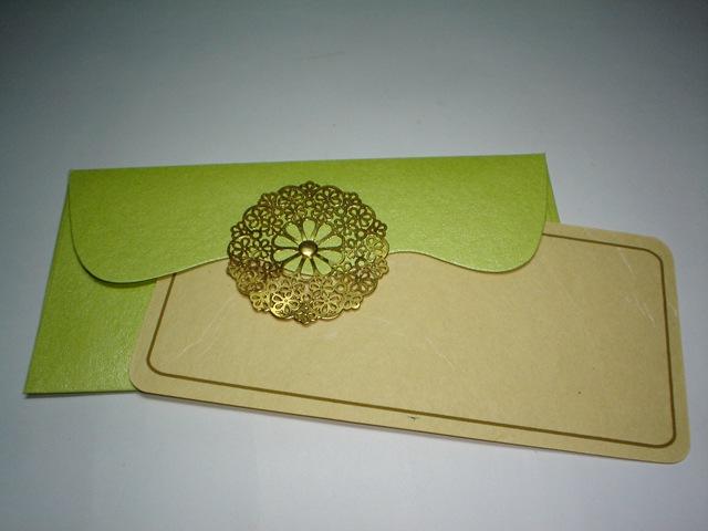Gift/Money Envelope With Notecard | Anand Prakash Blog
