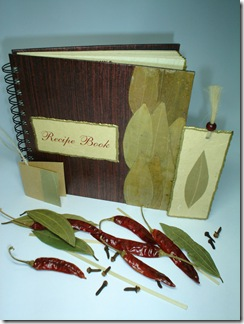 Handmade Recipe Book