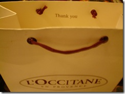 L'OCCITANE Paper Bag
