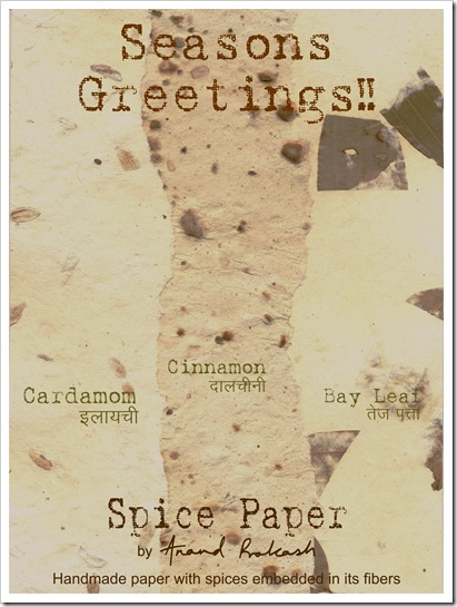 Spice Paper