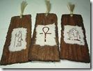 Egyptian Hieroglyphs Bookmark