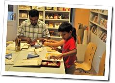 Papercraft Workshop for children