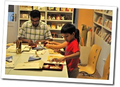 Papercraft Workshop for children