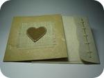 Handmade card for papercraft workshop