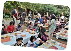 Recycling Workshop at Bookaroo