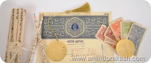 Old Documents from British India