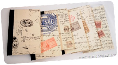 Old Indian Court and Stamp Paper