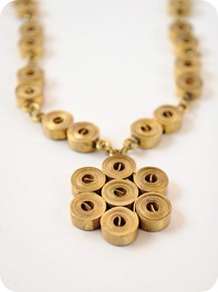 Brass Metal Pendant