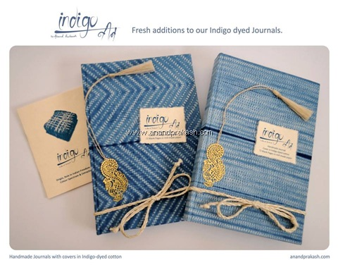 New Indigo Journals