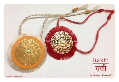Handmade Rakhi by Anand Prakash