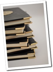 Leather Journal with Goldplated corners