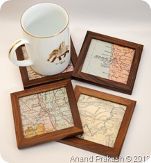 Old Maps Coasters