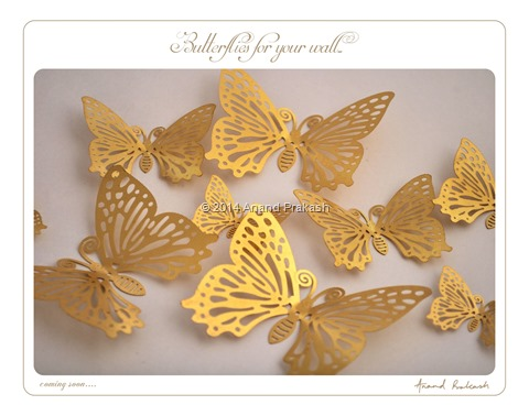 Metallic Butterflies