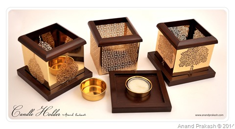 Candle Holder by Anand Prakash