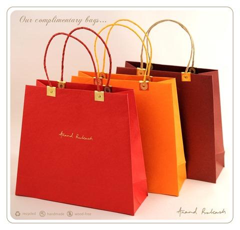 Handmade Paper Bags by Anand Prakash