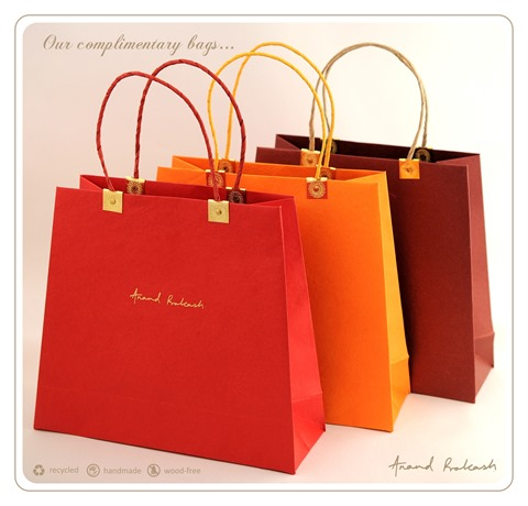 Handmade Paper Bags by Anand Prakash