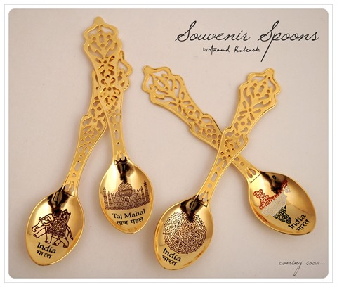 Souvenir Spoons by Anand Prakash