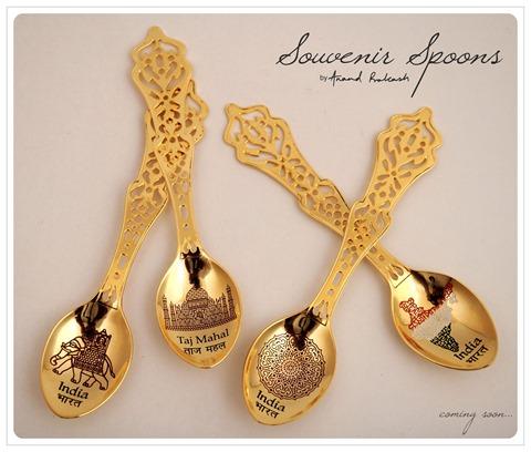 Souvenir Spoons by Anand Prakash