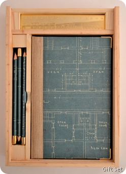 Blueprint giftset