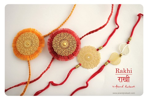 Handmade Rakhi 2014