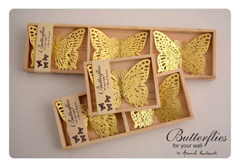 butterflies for your wall