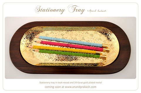 Handcrafted Stationery Tray by Anand Prakash