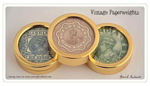Paperweights Vintage