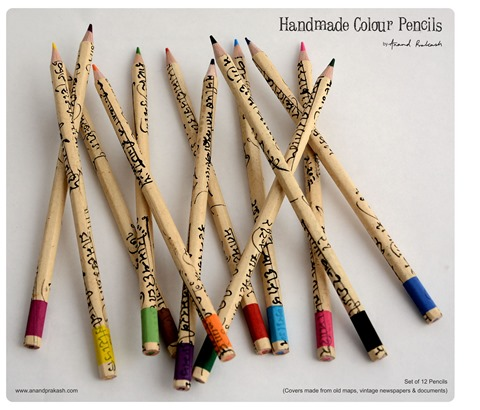 Handcrafted Colour Pencils