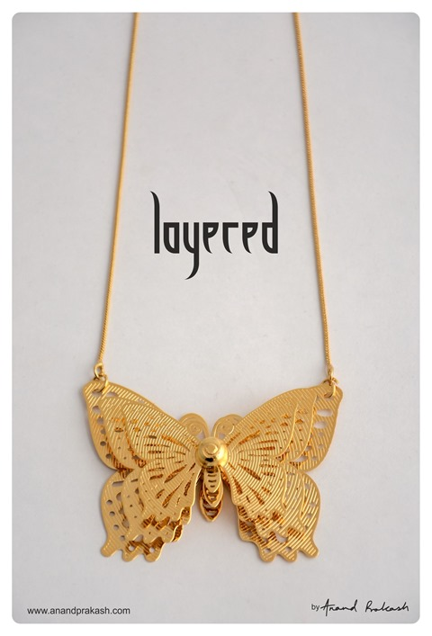 Butterfly pendant by Anand Prakash