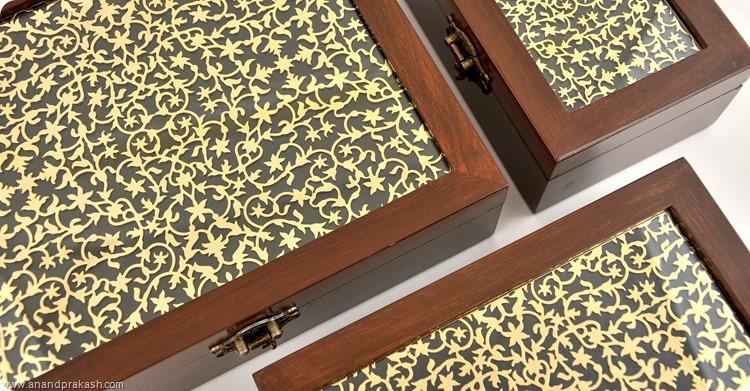 Taj Mahal Range Boxes by Anand Prakash India