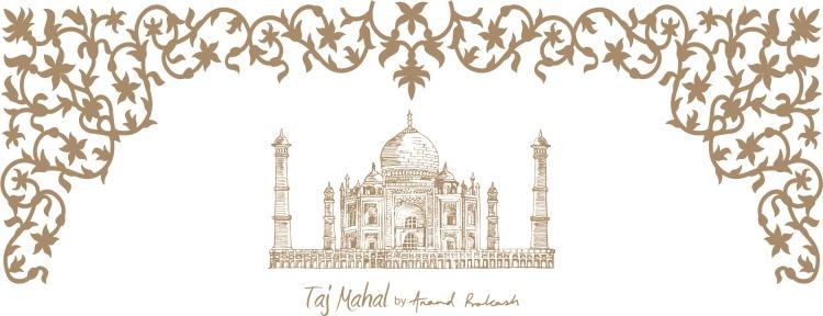 Taj mahal single colour2