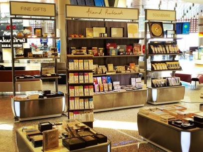 Anand Prakash Store, Level3, International Departures, Mumbai Airport.JPG