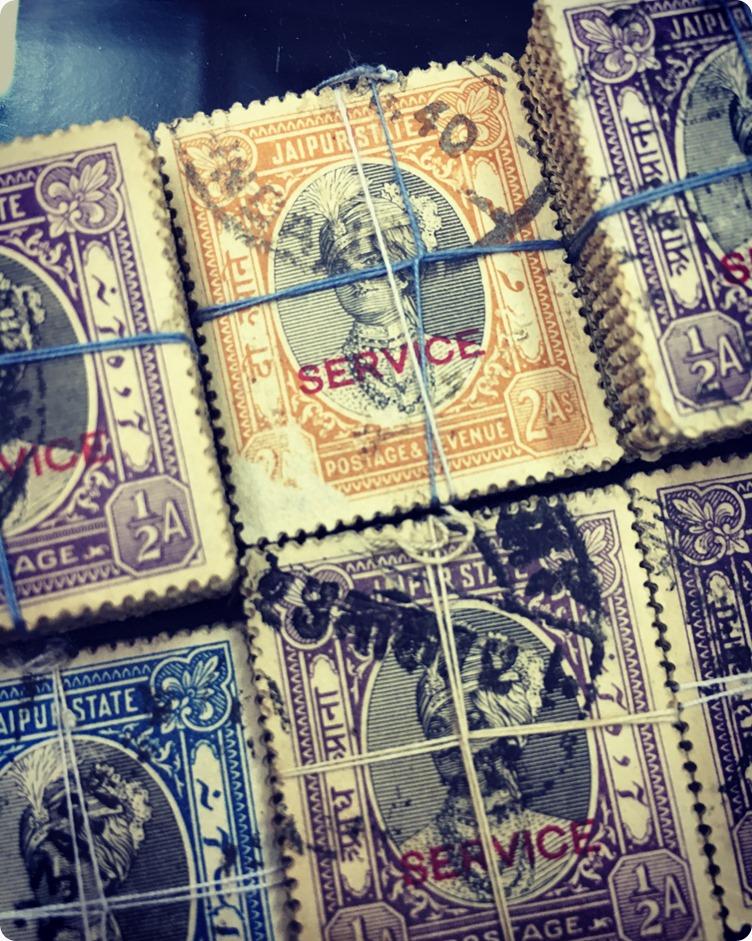 Vintage Stamps by Anand Prakash