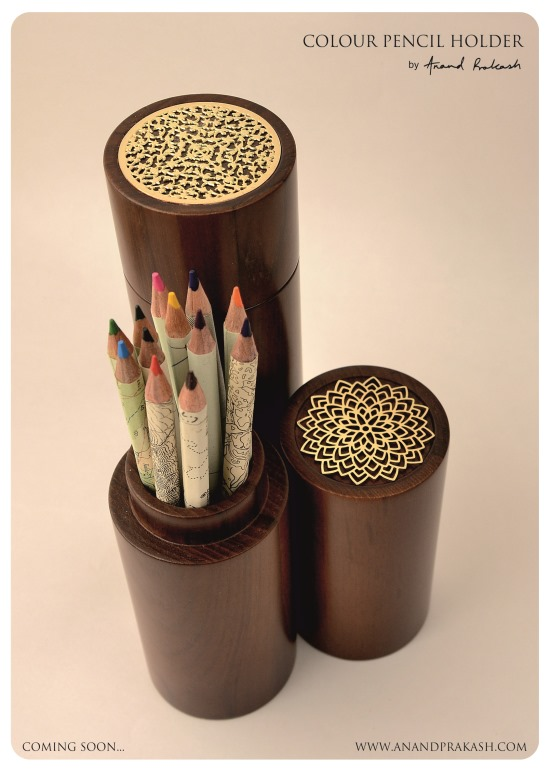 Colour Pencil Holder