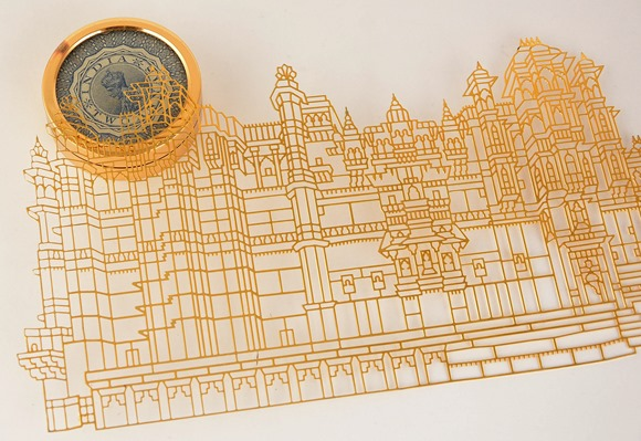 Palace in Brass